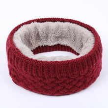 Load image into Gallery viewer, Ring Circle Wool Woman Winter Scarf:bigredbags.com