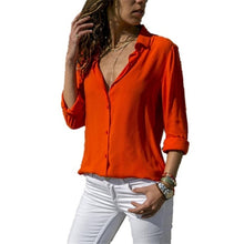 Load image into Gallery viewer, Bigredbagshop.com: Long Sleeve  Work Blouse
