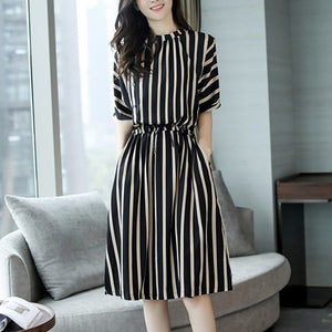 Bigredbagshop.com: Elegant Short Sleeve Split Dresses