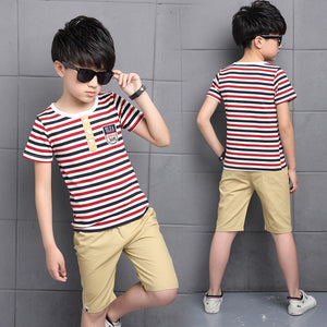 Boys Sporty 2Pce T-Shirt and Pants.