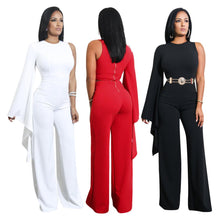 Load image into Gallery viewer, Bigredbagshop.com: One Shoulder Woman Jumpsuit