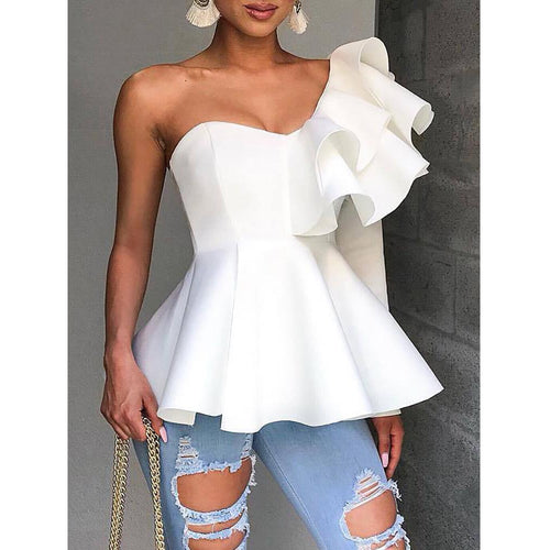 Bigredbagshop.com: Elegant One Shoulder Party Tops.