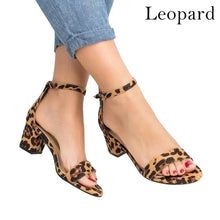 Load image into Gallery viewer, Ankle Strap Heels  Women Sandals