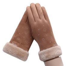 Load image into Gallery viewer, Winter Touch Screen Suede Leather Gloves