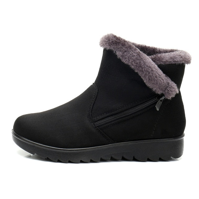 Winter Women  Wedge Ankle Boots: bigredbags.com