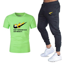 Load image into Gallery viewer, Men 2PC Causal Pant and Tee.