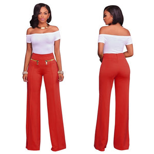 Women Wide Leg Palazzo Pants bigredbags.com