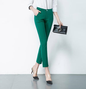 Casual Women Plus Size Pencil Pants