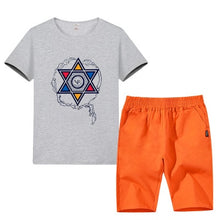 Load image into Gallery viewer, Boys Sporty 2Pce T-Shirt and Pants. bigredbags.com