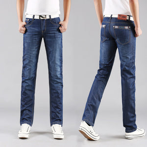 Classic Leisure Jeans Basic styles men Jeans Straight Jeans