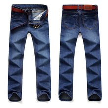 Load image into Gallery viewer, Classic Leisure Jeans Basic styles men Jeans Straight Jeans Bigredbags.com