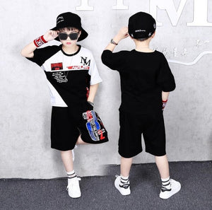 2 Pieces Suit Kids Teenage Boys Clothing Sets