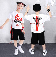 Load image into Gallery viewer, 2 Pieces Suit Kids Teenage Boys Clothing Sets: Bigredbags.com