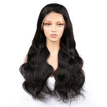 Load image into Gallery viewer, Virgin Indian Hair Body Wave Lace Front Wigs - MoWeave Virgin Hair