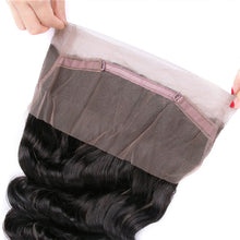 Load image into Gallery viewer, Brazilian Loose Wave 360 Lace Frontal - MoWeave Virgin Hair