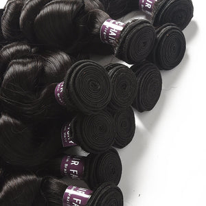 Brazilian Loose Wave Hair Bundles - MoWeave Virgin Hair