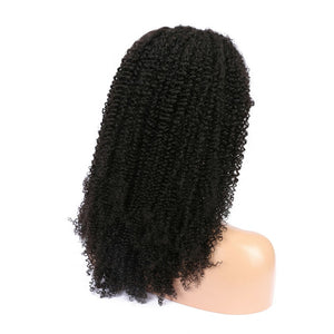 Brazilian Virgin Hair 360 Kinky Curly Wigs - MoWeave Virgin Hair