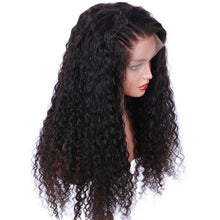 Load image into Gallery viewer, Brazilian Virgin Human Hair Curly Lace Front Wigs - MoWeave Virgin Hair
