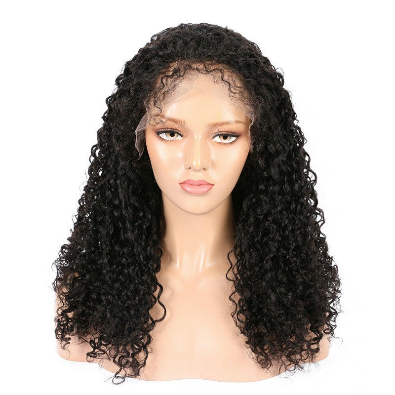 Virgin Indian Hair Deep Curly Lace Front Wigs - MoWeave Virgin Hair