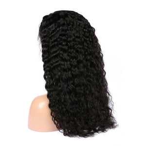 Deep Wave Virgin Indian Hair Full Lace Wigs - MoWeave Virgin Hair