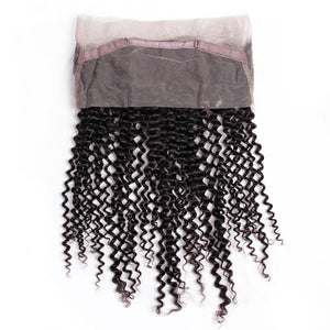 Indian Kinky Curly 360 Lace Frontal - MoWeave Virgin Hair