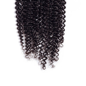 Middle Part Indian Kinky Curly Lace Closure - MoWeave Virgin Hair