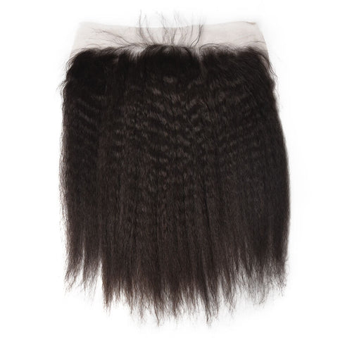 Indian Kinky Straight Lace Frontal - MoWeave Virgin Hair