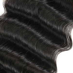 Middle Part Indian Loose Curly Lace Closure - MoWeave Virgin Hair