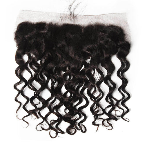 Indian Natural Wave Lace Frontal - MoWeave Virgin Hair