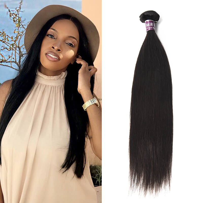 Indian Straight Hair Bundles - MoWeave Virgin Hair