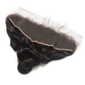 3 Peruvian Virgin Hair Loose Wave Bundles with Frontal - MoWeave Virgin Hair