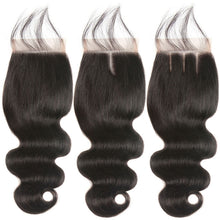 Load image into Gallery viewer, Middle Part Malaysian Body Wave Lace Closure - MoWeave Virgin Hair