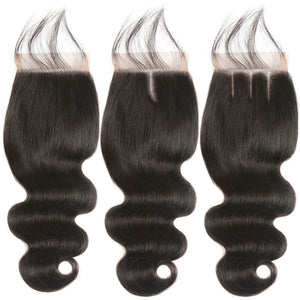 Middle Part Malaysian Body Wave Lace Closure - MoWeave Virgin Hair