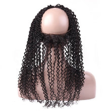 Load image into Gallery viewer, Malaysian Kinky Curly 360 Lace Frontal - MoWeave Virgin Hair
