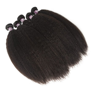 Malaysian Kinky Straight Hair Bundles - MoWeave Virgin Hair