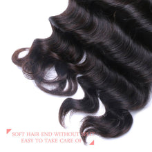 Load image into Gallery viewer, Malaysian Loose Curly Lace Closure - MoWeave Virgin Hair