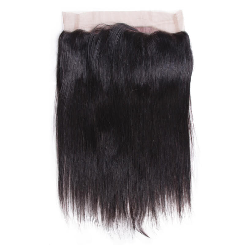 Malaysian Straight 360 Lace Frontal - MoWeave Virgin Hair