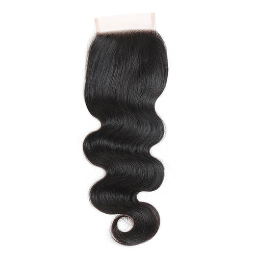 Three Part Peruvian Body Wave Lace Closure - MoWeave Virgin Hair
