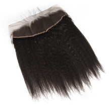 Load image into Gallery viewer, Peruvian Kinky Straight Lace Frontal - MoWeave Virgin Hair