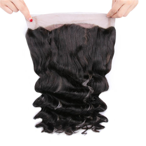 Peruvian Loose Wave 360 Lace Frontal - MoWeave Virgin Hair