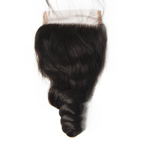 Peruvian Loose Wave Lace Closure - MoWeave Virgin Hair