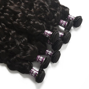 Peruvian Natural Wave Hair Bundles - MoWeave Virgin Hair