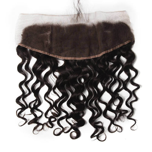 Peruvian Natural Wave Lace Frontal - MoWeave Virgin Hair
