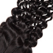 Load image into Gallery viewer, Three Part Peruvian Water Wave Lace Closure - MoWeave Virgin Hair