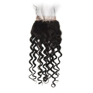 Peruvian Water Wave Lace Closure - MoWeave Virgin Hair