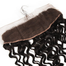 Load image into Gallery viewer, 3 Bundles of Virgin Brazilian Water Wave Hair with Frontal - MoWeave Virgin Hair