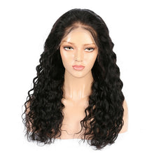 Load image into Gallery viewer, Brazilian Virgin Hair Water Wave Lace Front Wigs - MoWeave Virgin Hair