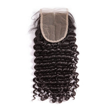 Load image into Gallery viewer, Three Part Brazilian Deep Wave Closure - MoWeave Virgin Hair