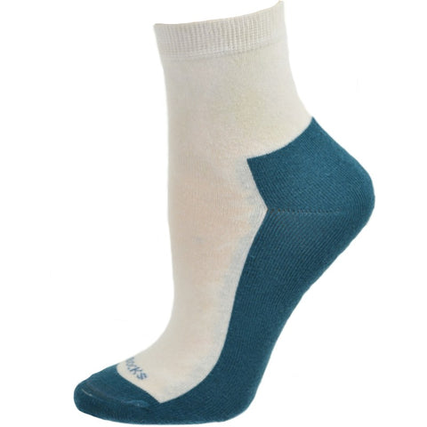 Athletic Quarter Hi Cushioned Foot Cotton Socks SWHFCS - Sierra Socks Wholesale