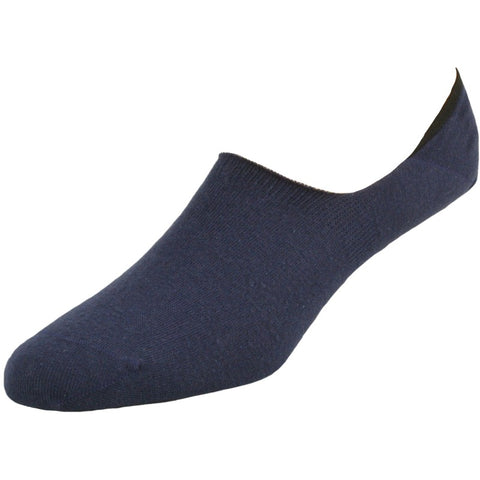 Men's 3 Pair Pack Performance Comb Cotton Invisible Socks with Silicone M11139E - Sierra Socks Wholesale